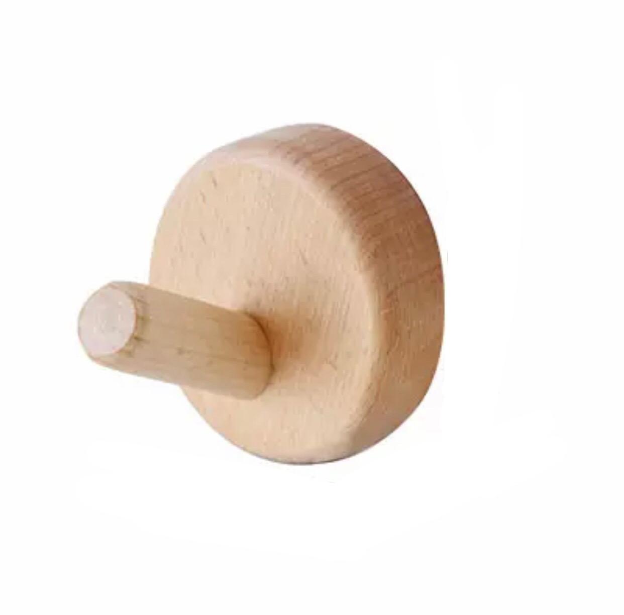 Wandhaak hout rond kopen